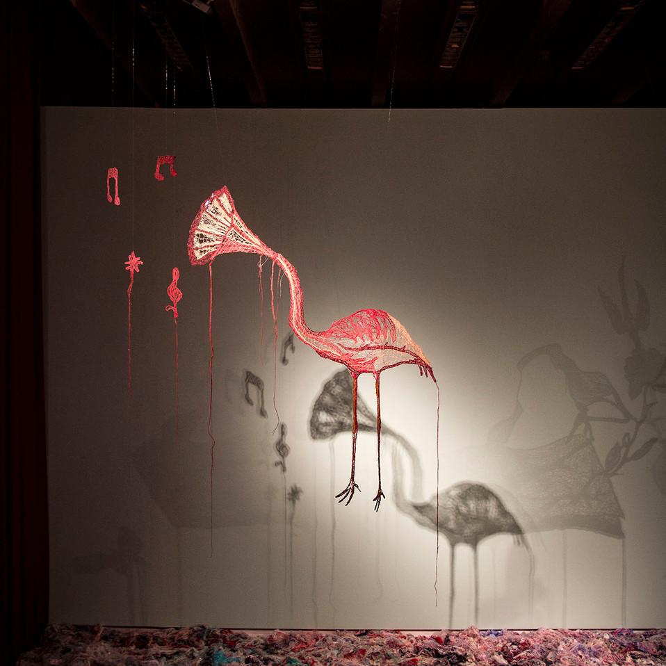 Flamingophone (Oscar Niemeyer Museum)
