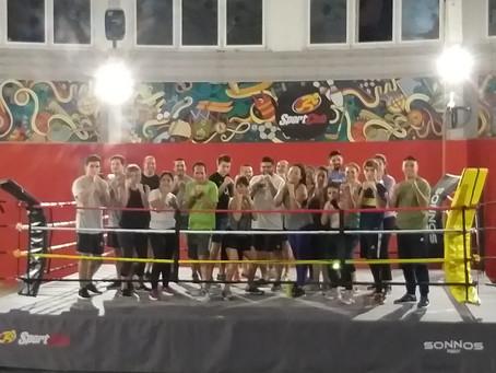 Sport Club suma boxeo recreativo