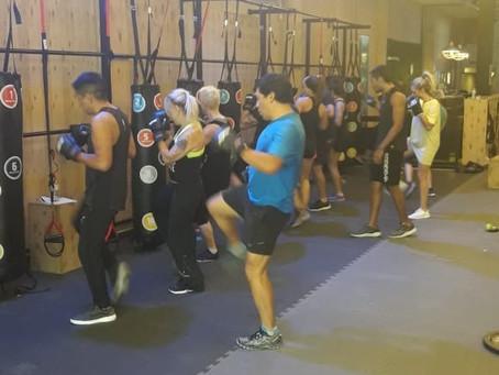 Crece en todo el país la tendencia del boxeo funcional