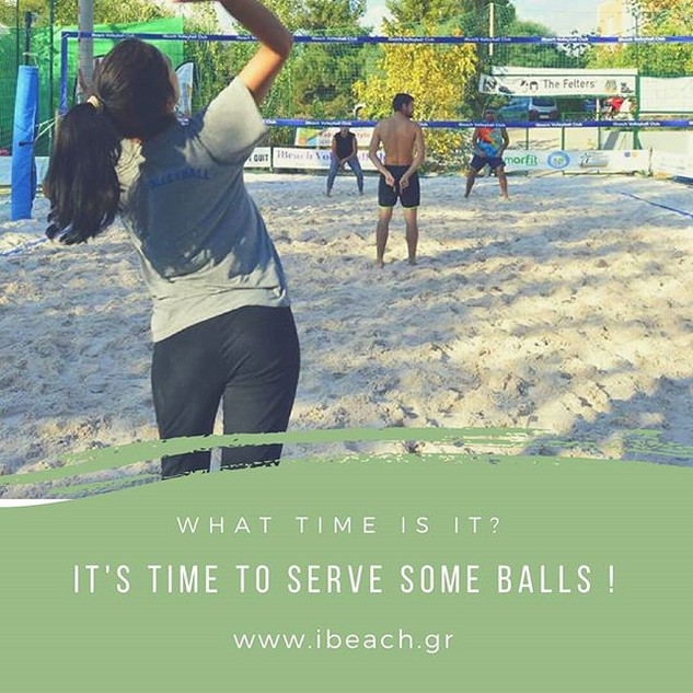 It's time to serve some balls ! 🏐🏐🏐🔝
