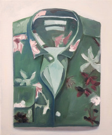 flower print folded shirt nr.2