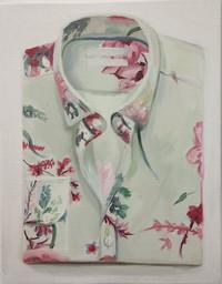 flower print folded shirt nr.1