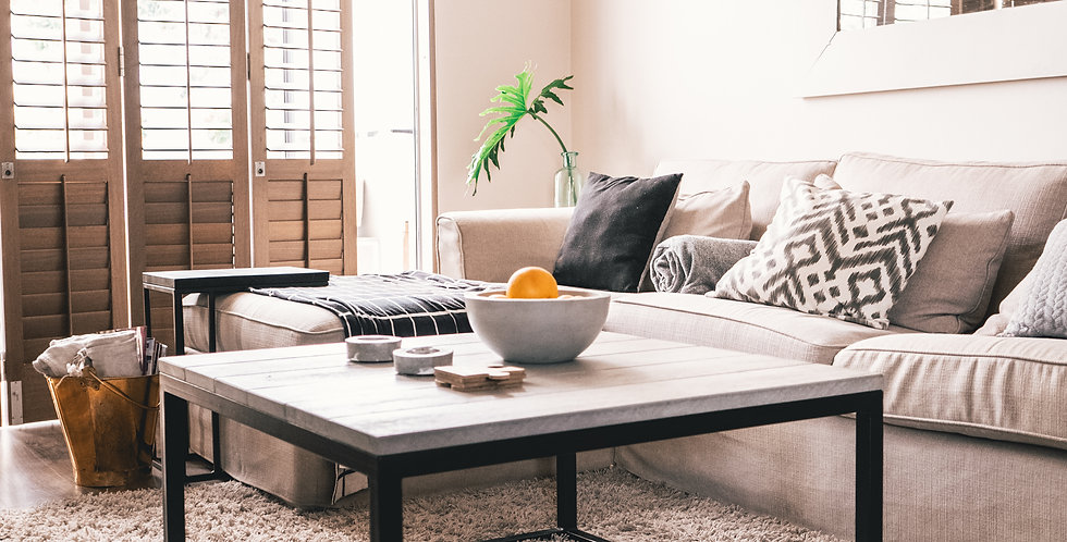 C-panel Coffee Table