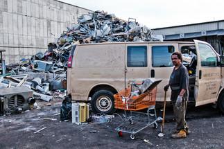 NY junkyard