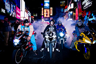 Times Square- Bikers