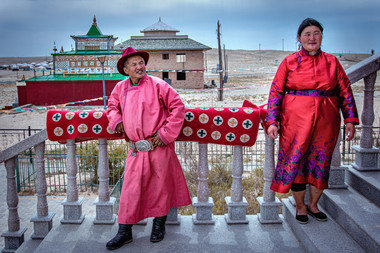 Mongolie Couple