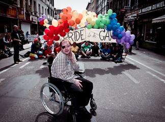Gay pride, rue du midi