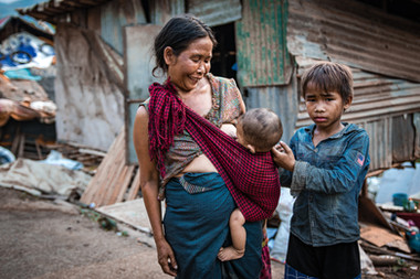 Laos - famille