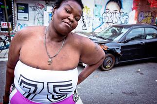 Girl on the street - Brooklyn