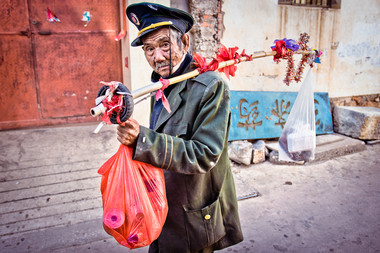 Man on the street - China