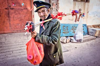 Man on the street - China