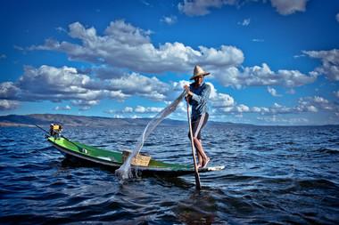 Birmanie - Le lac Inlè