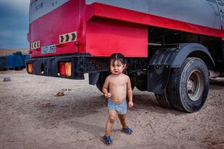 Mongolia Child