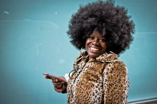 Ny - Black afro girl