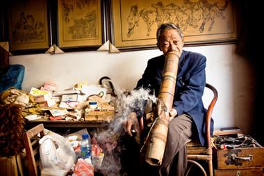 Le fumeur - China