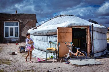Young girl - Mongolia
