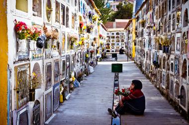 Bolivie cimetière