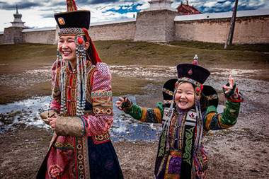 Le monastère - Mongolie