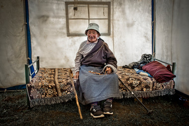 The old lady - China