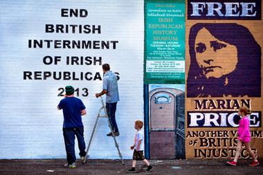Peace Walls, Catholic Side -Belfast