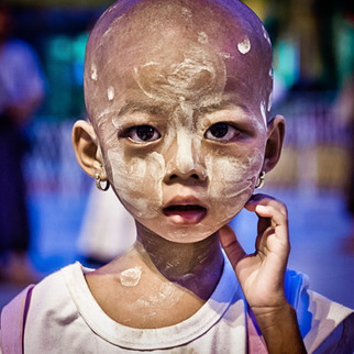 The little girl - Birmanie