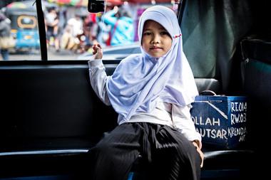Indonésie - Jeune fille
