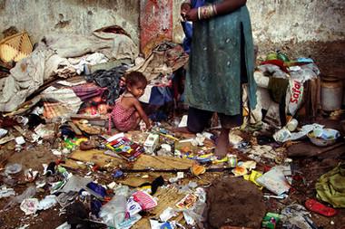 Dharavi, Bombay - India