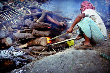 Vanarasi, Cremation Ceremony -India.