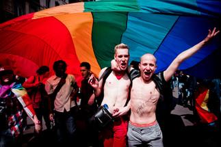 Gay pride, Arc en ciel