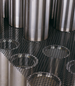Gittermatte CPM 460 - Stärke 2,8 mm - Masche 10 x 8 mm - 1.180 x 780 mm - LDPE