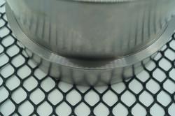Gittermatte CPM 300 - Stärke 2,0 mm - Masche 17 x 19 mm - 1,0 x 50 m - HDPE