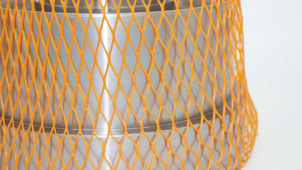 Oberflächenschutznetz CN 300 orange - Ø 200 - 300 mm