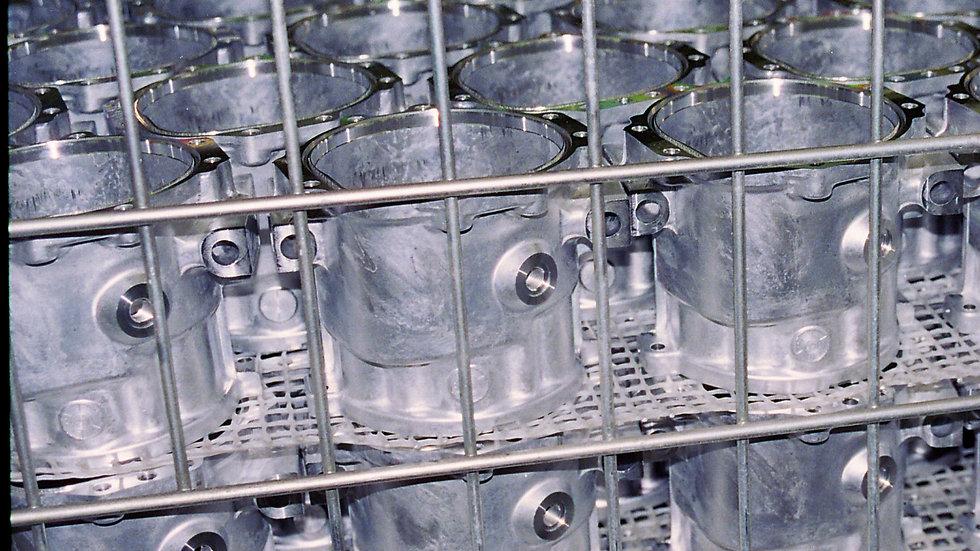 Waschgitter CPM 450 - 2,8 mm - Masche 9 x 8 mm - 1,2 x 30 m - Polyamid