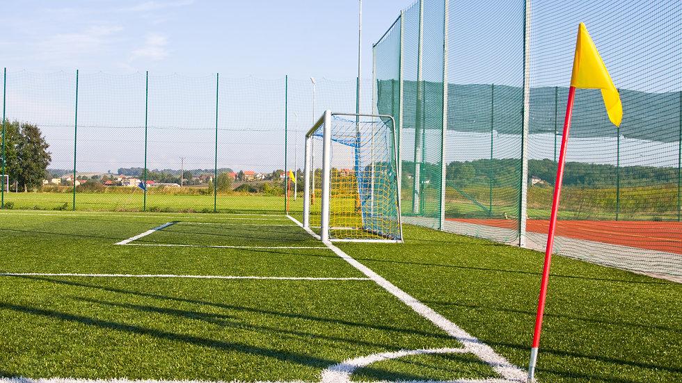 Ballfangnetz für Fußball aus PP - knotenlos - hochfest - 5,0 mm Stärke - 120 mm Maschenweite