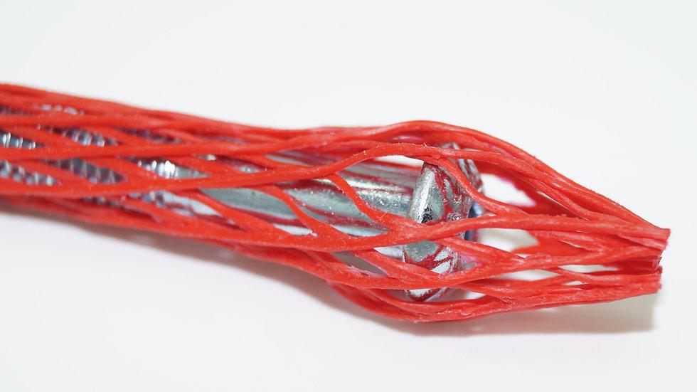 Oberflächenschutznetz CN 08 rot - Ø 4 - 10 mm