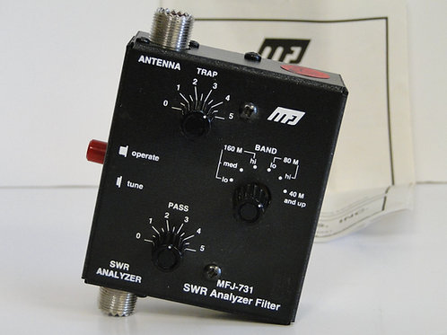 SWR ANALYZER FILTER MFJ-731