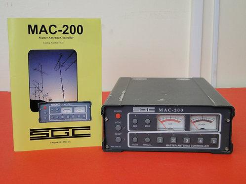 SGC MAC-200 MASTER ANTENNA CONTROLLER WITH MANUAL