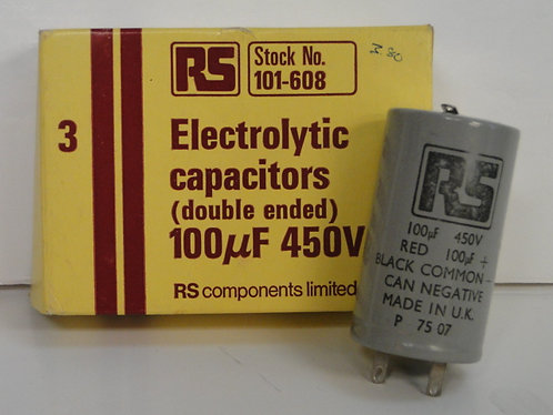 ELECTROLYTIC CAPACITOR 450V X1