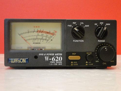 WATSON W-620 SWR & POWER METER  SN 6001768