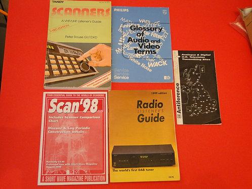 RADIO BOOKS JOB LOT