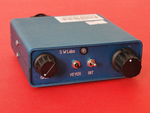 SW LABS 20M QRP RADIO WITH DDS & SWR INDICATOR