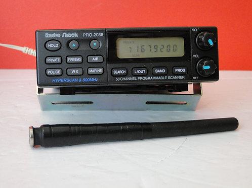 RADIOSHACK PRO-2038 SCANNING RECEIVER SN 45004305