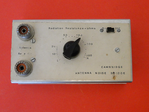 CAMBRIDGE ANTENNA NOISE BRIDGE