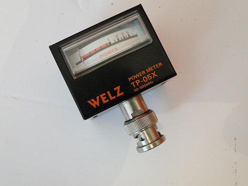 WELZ TP-05X 50-500MHz POWER METER