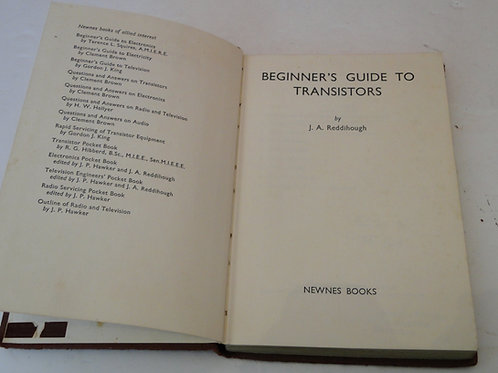 BEGINNERS GUIDE TO TRANSISTORS, NEWNES