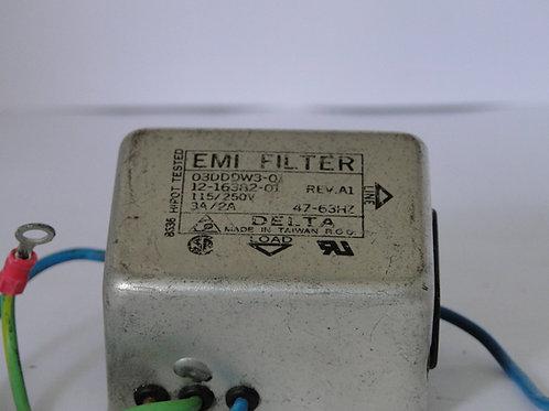 EMI FILTER DELTA 115/250V 47-63HZ