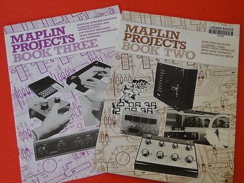 MAPLIN PROJECT BOOKS, 2 & 3