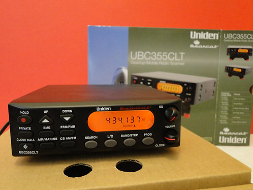 Uniden Bearcat ubc355clt Scanner