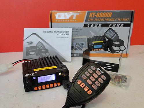 QYT KT-8900R TRI-BAND MOBILE RADIO