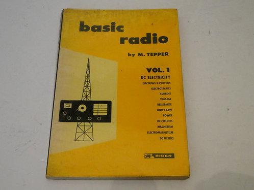 BASIC RADIO BY M.TEPPER VOL.1